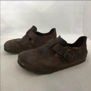 Birkenstock London oiled leather shoe size 37